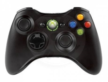 Microsoft Xbox 360 Wireless Controller Black new (X360)