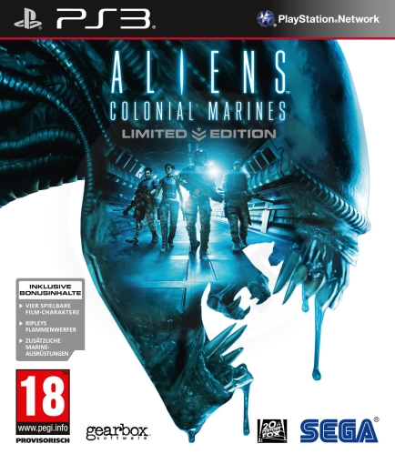 Aliens: Colonial Marines - Limited Edition (PS3) použité