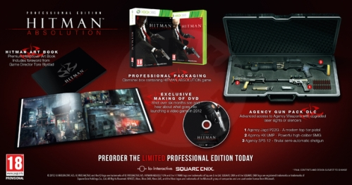 Hitman: Absolution - Professional Edition (X360)