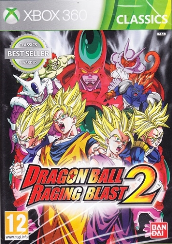 Dragon Ball Raging Blast 2 (X360)