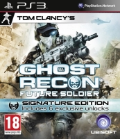 Tom Clancy´s Ghost Recon Future Soldier - Signature Edition (PS3) použité