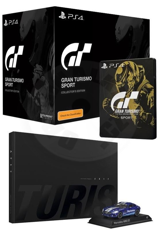 gran turismo sport collector 39 s edition ps4. Black Bedroom Furniture Sets. Home Design Ideas