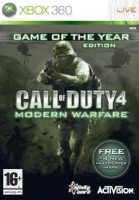 Call of Duty 4: Modern Warfare - Game of the Year edition (X360) použité