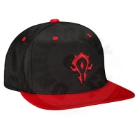 Jinx World of Warcraft Horde Snap Back Hat