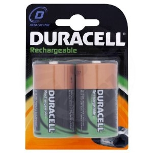 Duracell Rechargeable 2x HR20