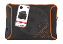 Trust Notebook Protection Sleeve Black/Orange 15,4