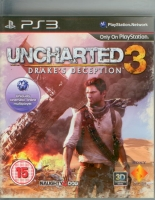 Uncharted 3: Drake´s Deception (PS3) použité
