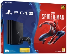Sony PlayStation 4 Pro 1 TB Spider-Man bundle