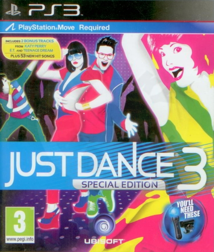 Just Dance 3 - Special Edition (PS3) použité