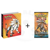 Pokémon - Sun and Moon Collectors Album + Booster