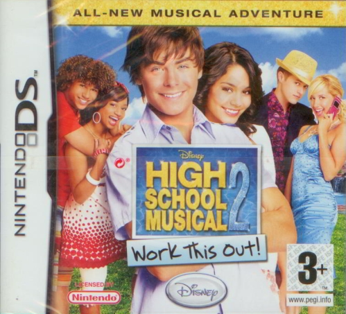 High School Musical 2: Work This Out (DS)