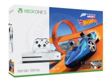 Microsoft Xbox One S 500 GB + Forza Horizon 3 Hot Wheels Bundle
