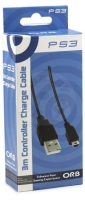 ORB Controller Charge Cable 3 m (PS3)