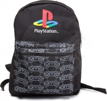 Playstation Controller Logo Pattern Backpack