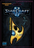 StarCraft II Sticker 2 - pack Protoss