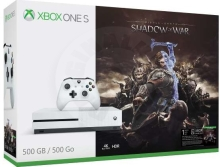 Microsoft Xbox One S 500 GB Middle-Earth: Shadow of War