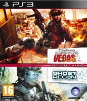 Tom Clancy´s Rainbow Six: Vegas 2 + Ghost Recon: Advanced Warfighter 2 (PS3)