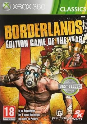 Borderlands: Game of the Year Edition (X360)